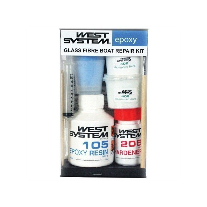 West System 105-K Polyester reparatieset
