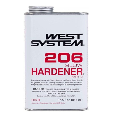 West System Epoxy Harder 206