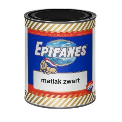 Epifanes Matlak zwart 0,75 ltr