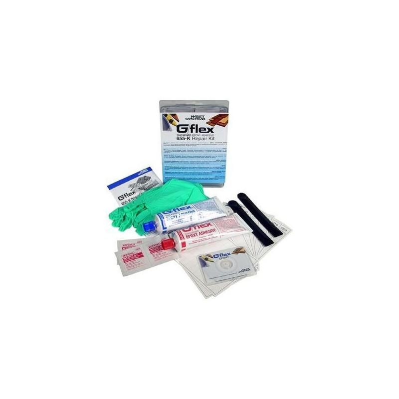 West System G-flex Flexibele epoxylijm Repair kit