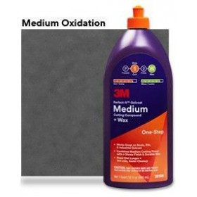 3M Perfect-It Gelcoat Medium Cutting Compound + Wax